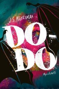 DO-DO -kirjan kansi. Keskellä isolla lukee DoDo.